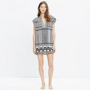 Madewell Belize cover up tunic